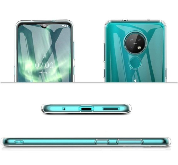 Etui ERBORD Slim Case do Nokia 6.2 / 7.2 - Clear