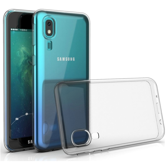Etui ERBORD Slim Case do Samsung Galaxy A10 - Clear