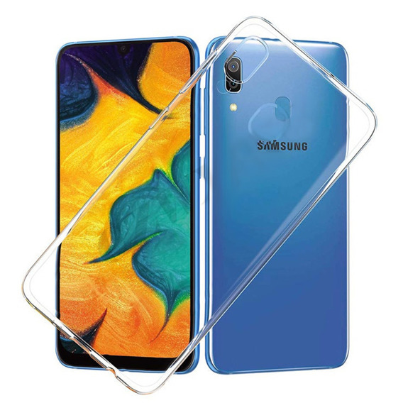 Etui ERBORD Slim Case do Samsung Galaxy A40 - Clear