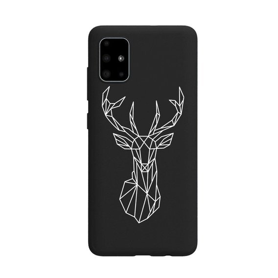 Etui ERBORD Slim Case do Samsung Galaxy A71 - Elk