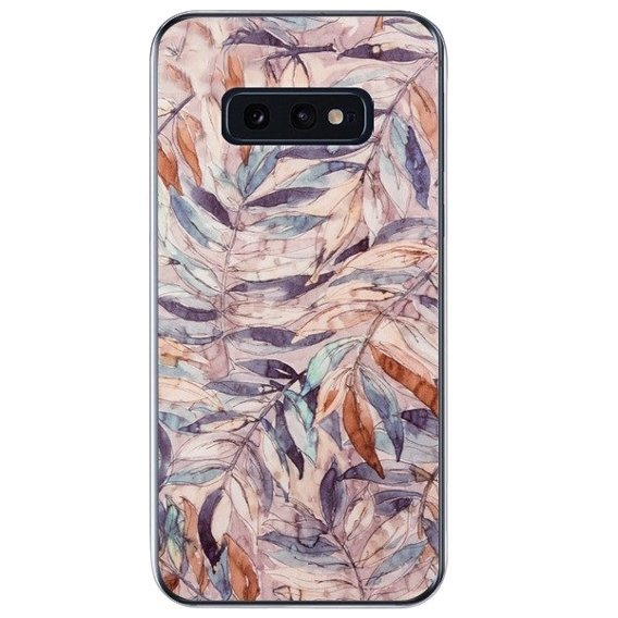 Etui ERBORD Slim Case do Samsung Galaxy S10E - Autumn Leaves