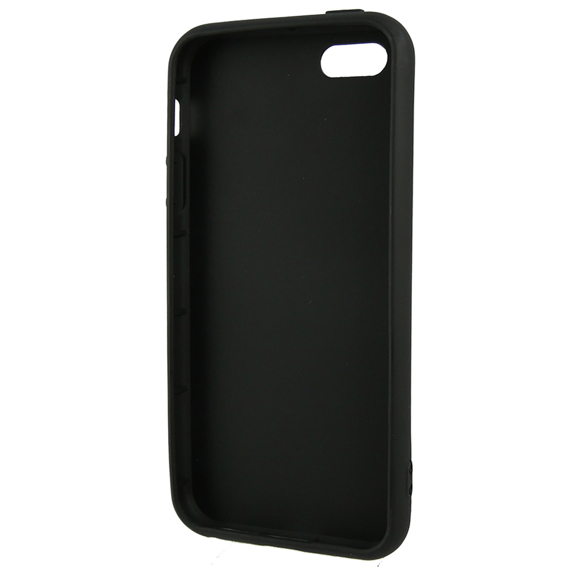 Etui ERBORD Slim Case do iPhone 5/5S/SE - Black