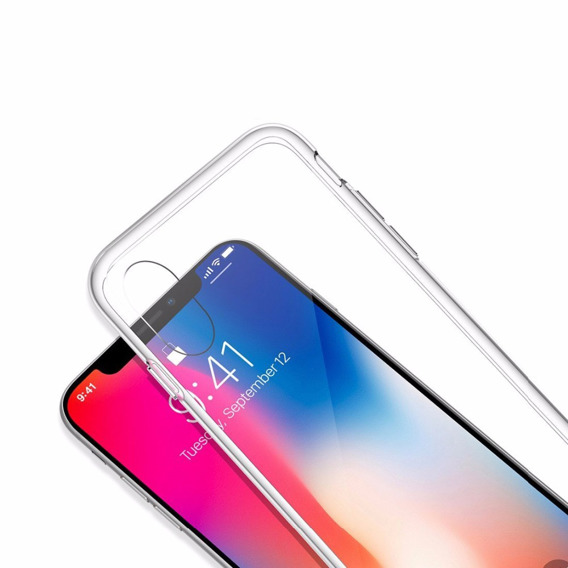 Etui ERBORD Slim Case do iPhone XR - Clear