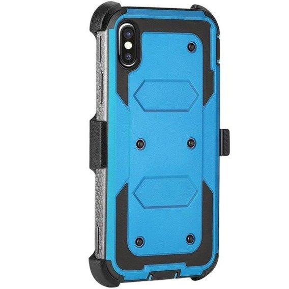 Etui ERBORD TOUGH do iPhone X / XS - Blue
