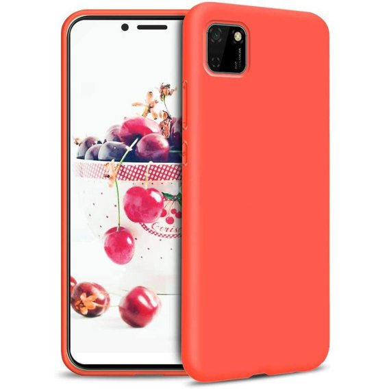 Etui ERBORD do Huawei Y5P - Silicone Lite - Pink