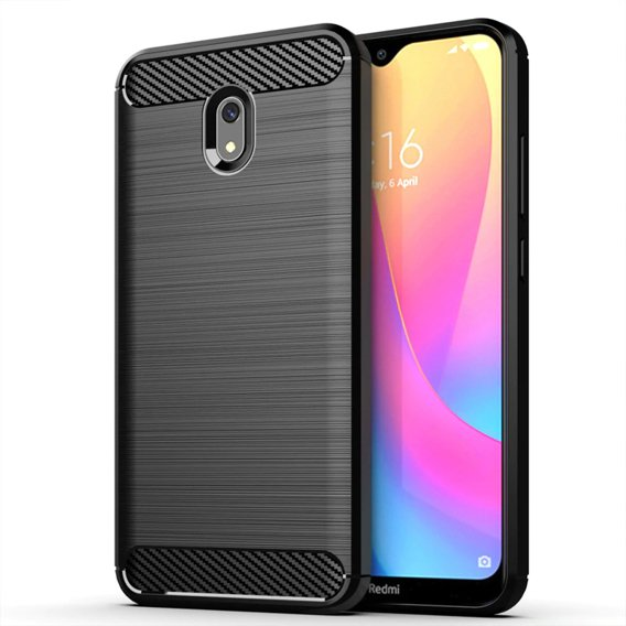 Etui ERBORD do Xiaomi Redmi 8A - Karbon - Black