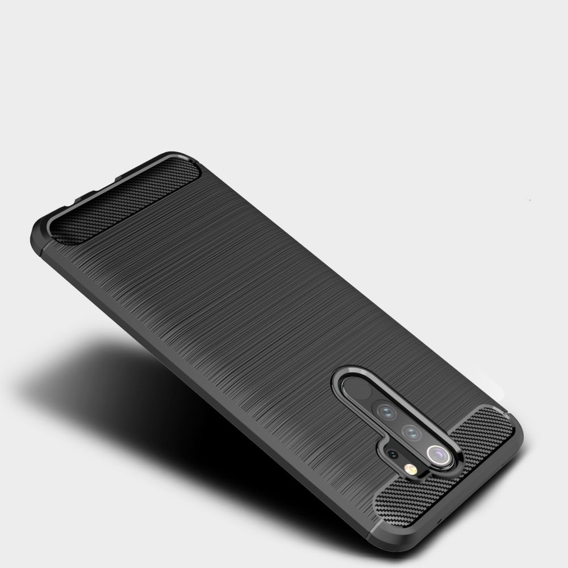 Etui ERBORD do Xiaomi Redmi Note 8 Pro - Karbon - Black