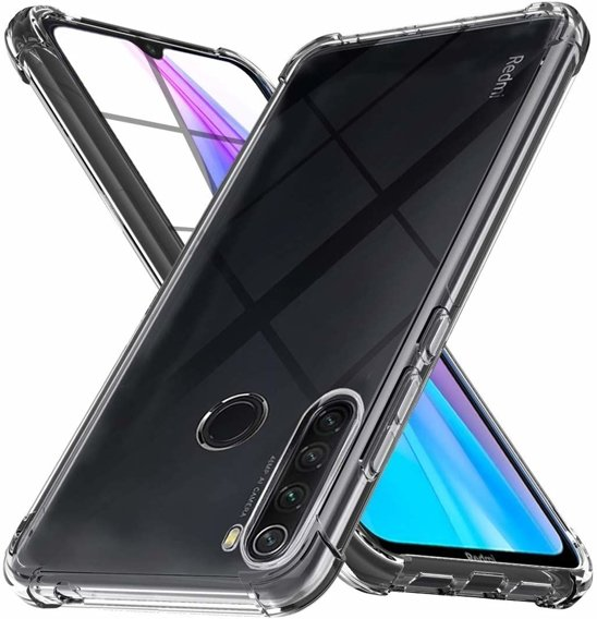 Etui ERBORD do Xiaomi Redmi Note 8T - Anti Shock - Clear