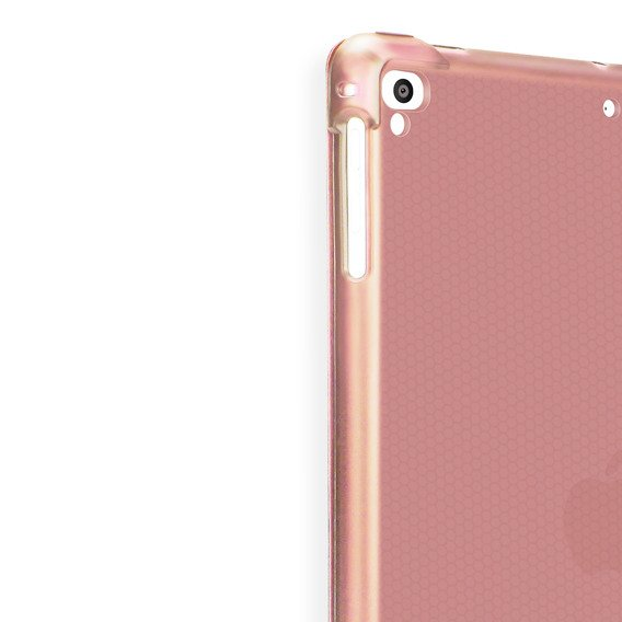 Etui ERBORD do iPad 9.7 2018/2017/ Air / Air 2 - Smart Case with Pen Slot Rose Gold