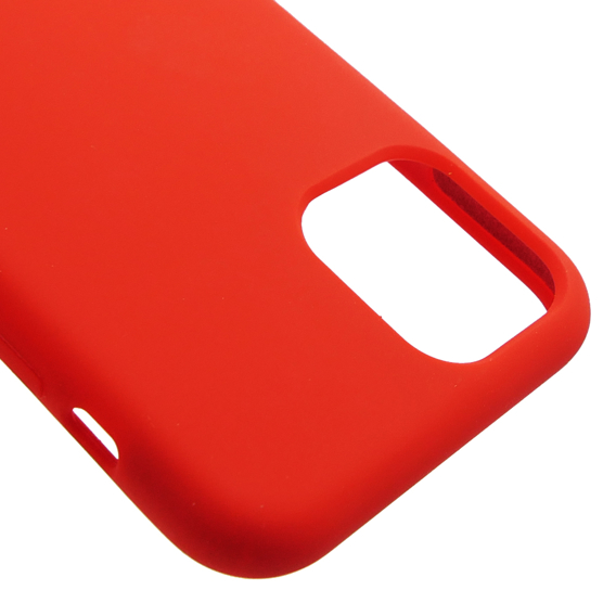 Etui ERBORD do iPhone 11 Pro Max - Silicone Case - Red