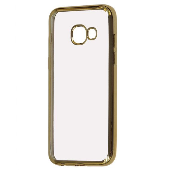 Etui Electro Jelly Case Samsung Galaxy A3 2017 - Gold