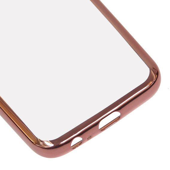 Etui Electro Jelly Case Samsung Galaxy A3 2017 - Rose Gold