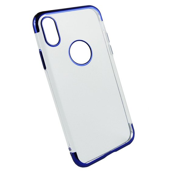 Etui Electro Jelly Case iPhone X / XS - Blue