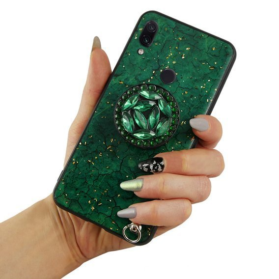 Etui Epoxy Gold Xiaomi Redmi 7 - Green