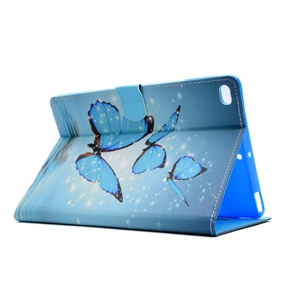 Etui Flexi Book APPLE iPad 9.7 2017 / 2018 - Blue Butterflies