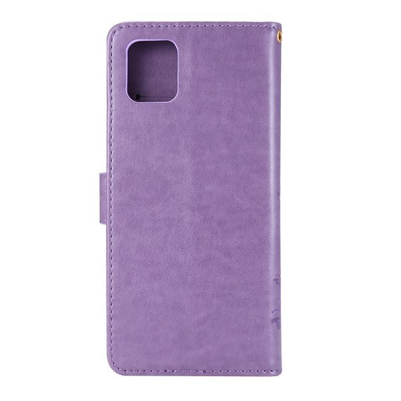 Etui Flexi Book Butterfly Flower do Samsung Galaxy Note 10 Lite - Purple