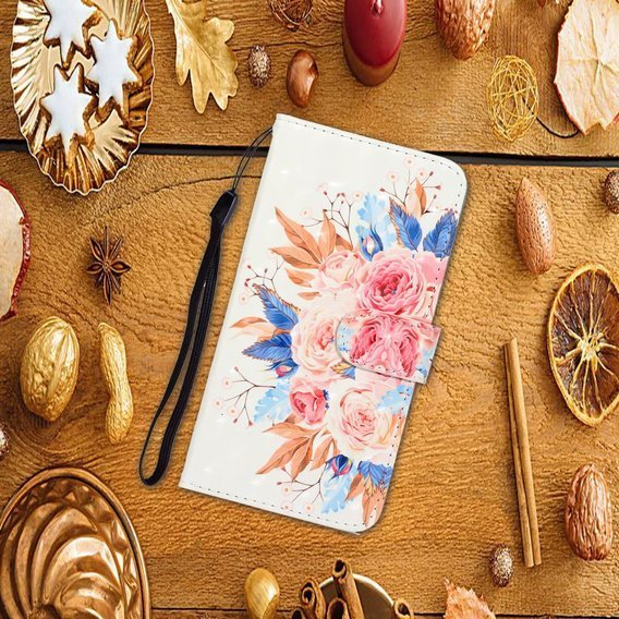 Etui Flexi Book Huawei P40 - Vivid Flower
