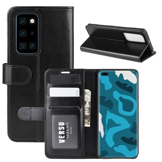Etui Flexi Book Wallet do Huawei P40 Pro - Black