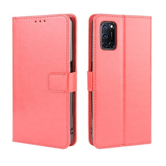 Etui Flexi Book Wallet do Oppo A52/A72/A92 - Red