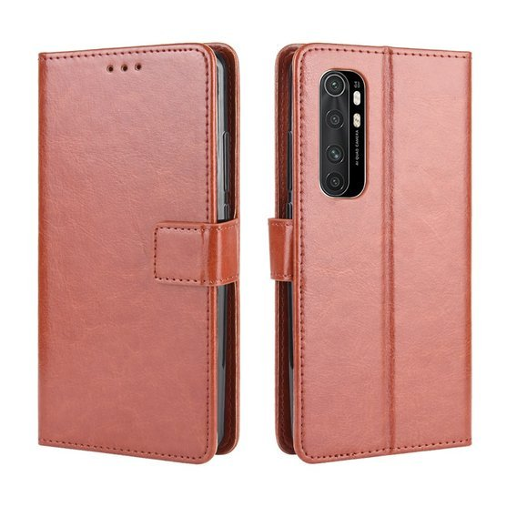 Etui Flexi Book Wallet do Xiaomi Mi Note 10 Lite - Brown