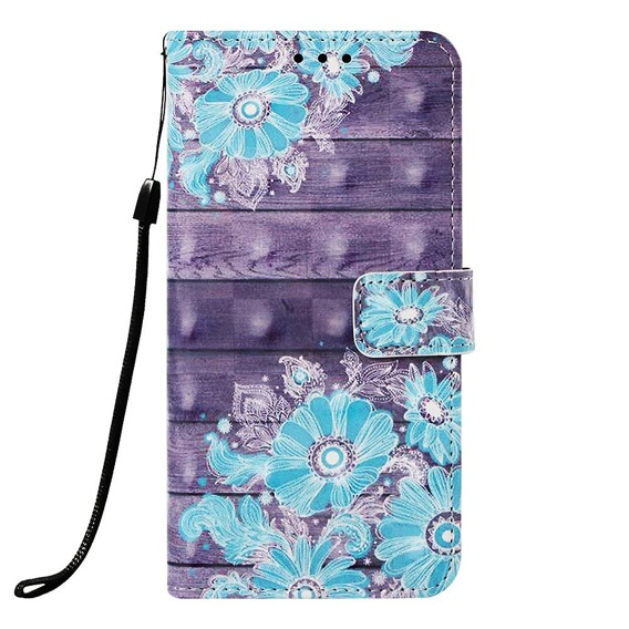 Etui Flexi Book do Samsung Galaxy A20 / A30 - Blue Flower