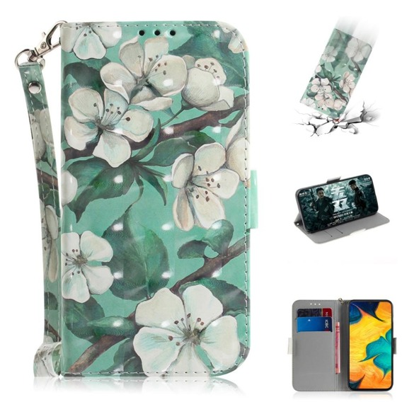 Etui Flexi Book do Samsung Galaxy A20 / A30 - Pretty Flowers