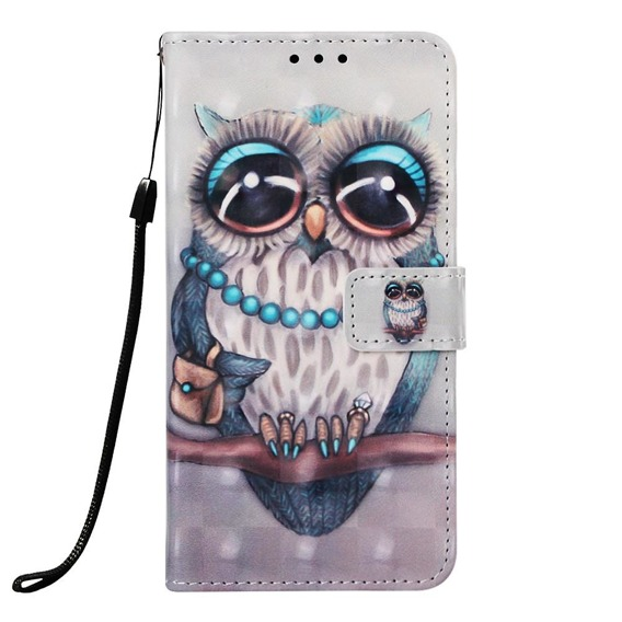Etui Flexi Book do Samsung Galaxy A50 / A30s - Owl on the branch