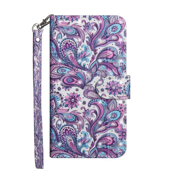 Etui Flexi Book do Samsung Galaxy A51 - Paisley Flower
