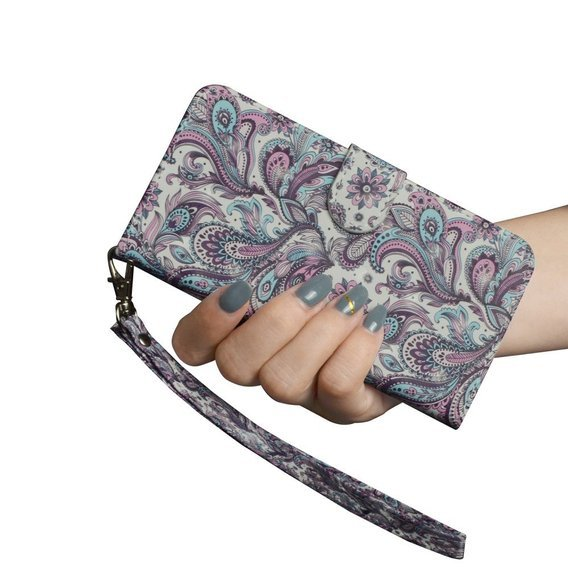 Etui Flexi Book do Samsung Galaxy A71 - Paisley Flower