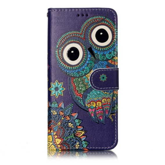 Etui Flexi Book do Samsung Galaxy S8 - Tribal Owl