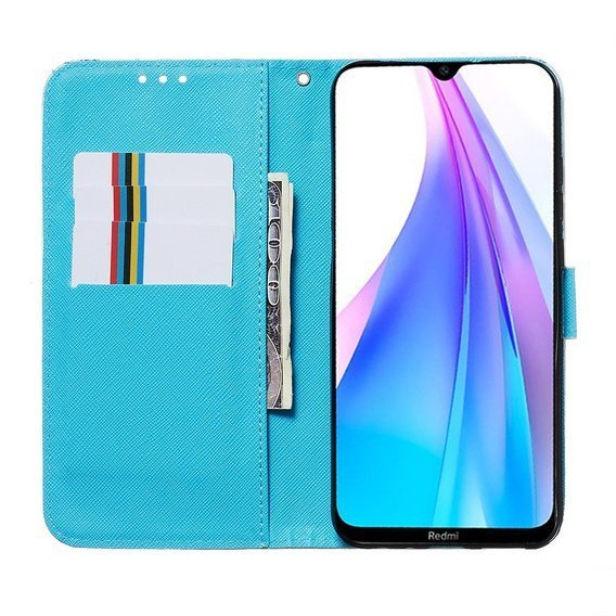 Etui Flexi Book do Xiaomi Redmi 8A - Feather Dream Catcher