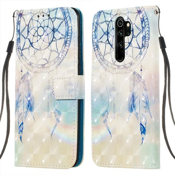 Etui Flexi Book do Xiaomi Redmi Note 8 Pro - Grey Dream Catcher