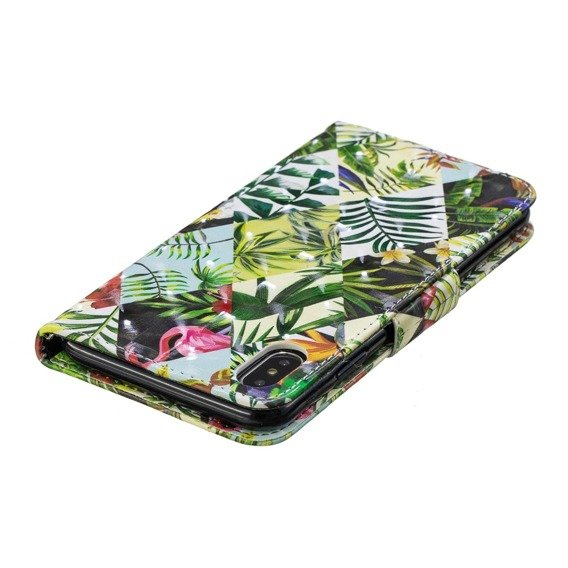 Etui Flexi Book iPhone XS Max 6.5 - Plants