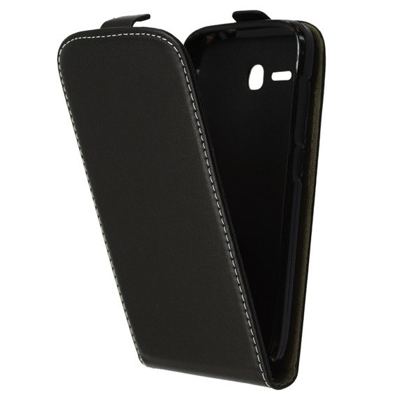 Etui Flip do Huawei Ascend Y600 - Black