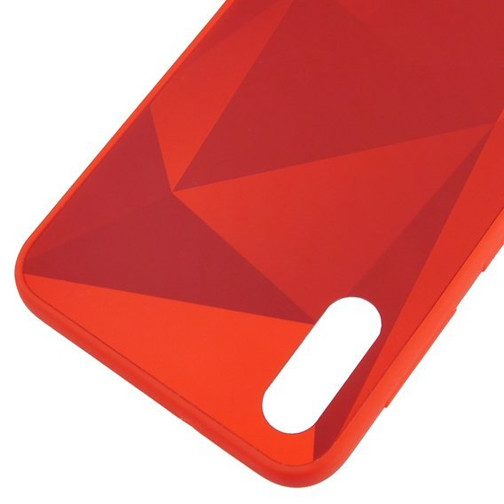 Etui Fractal do Samsung Galaxy A10 - Red