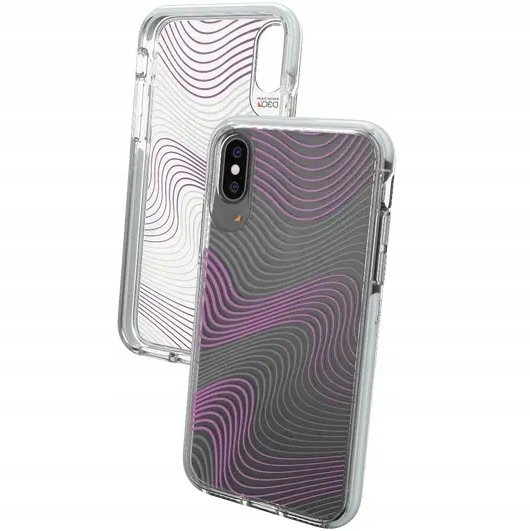 Etui Gear4 D3O Crystal Palace do iPhone X/XS - Victoria Fabric