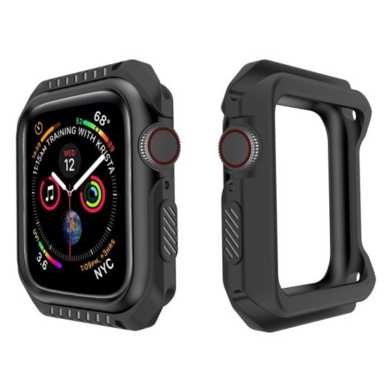 Etui Gel Frame do Apple Watch 4 44mm - Black