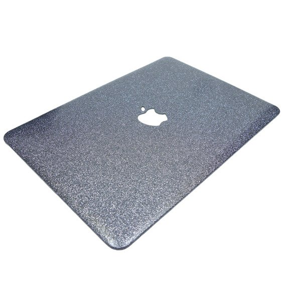 Granatowe Etui Glittery ToughShell Macbook Air 13.3 A1369 A1466