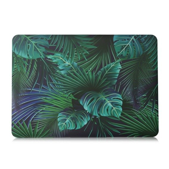 Etui Hard Case Macbook Air 13 2018 (A1932) - Leaf Pattern