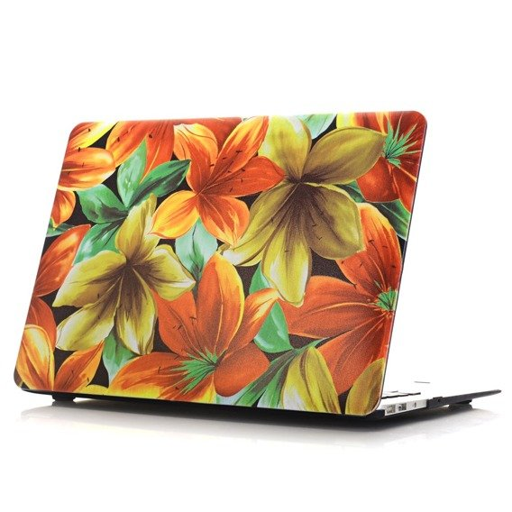 Etui Hard Case do Macbook Air 13.3 (A1369/A1466) - Amazing Flowers