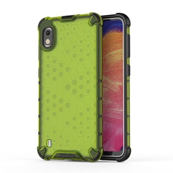 Etui Honeycomb do Samsung Galaxy A10 - Green