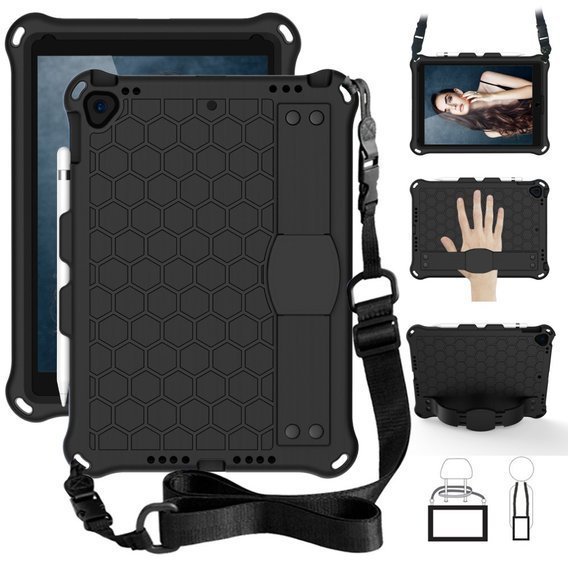 Etui Honeycomb do iPad 10.2 2019/Pro 10.5 2017/Air 10.5 2019 - Black