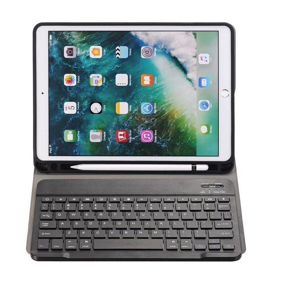 Etui Keyboard Cover do Apple iPad 10.2 2019 - Black