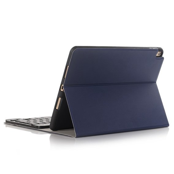 Etui Keyboard Cover do Apple iPad 10.2 2019 - Dark Blue