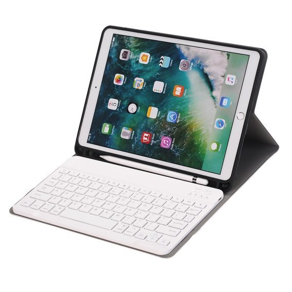 Etui Keyboard Cover do Apple iPad 10.2 2019 - Gold