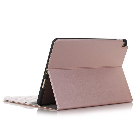 Etui Keyboard Cover do Apple iPad 10.2 2019 - Rose Gold