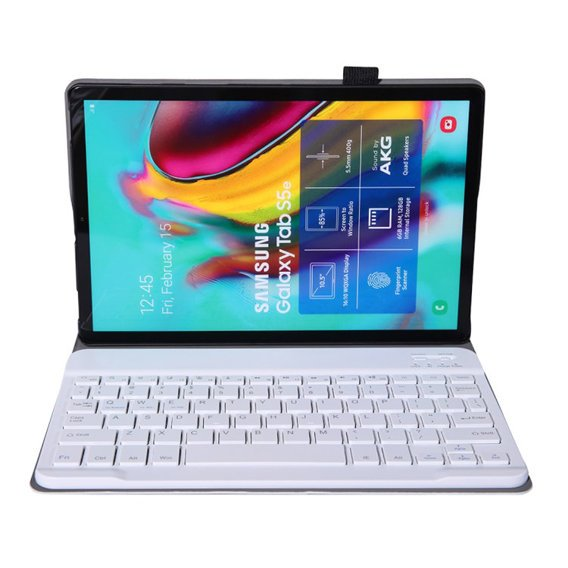 Etui Keyboard Cover do Samsung Galaxy Tab S6 Lite - Rose Gold