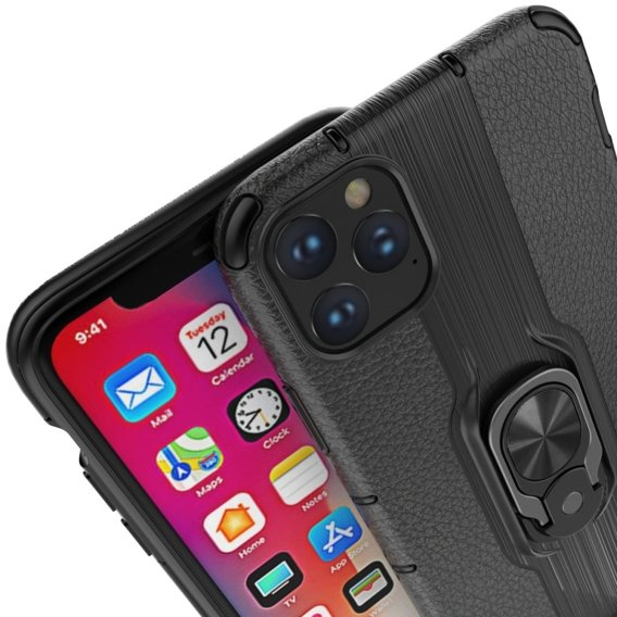 Etui Leather Ring do iPhone 11