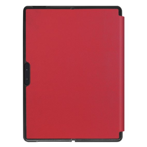 Etui Leather Stand Case do Surface Pro X - Red