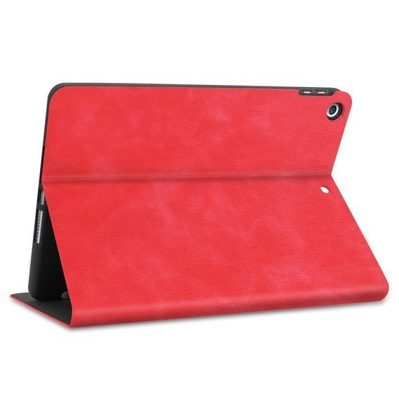 Etui Leather Stand Case do iPad 10.2 2019 - Red